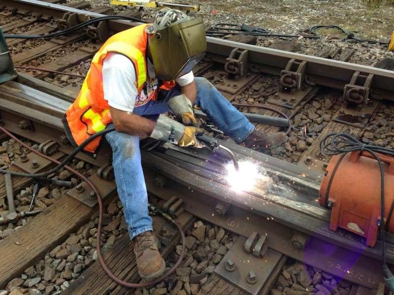 جوشکاری راه آهن